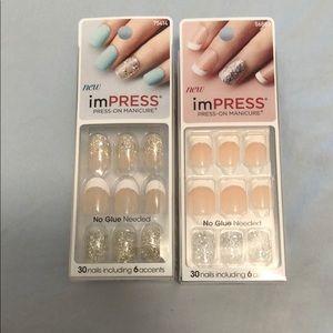 KISS imPRESS press on nails